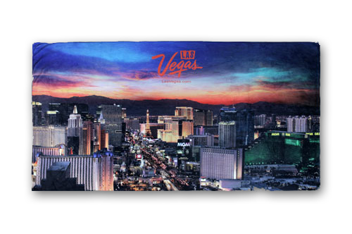 Las Vegas Custom Beach Towel
