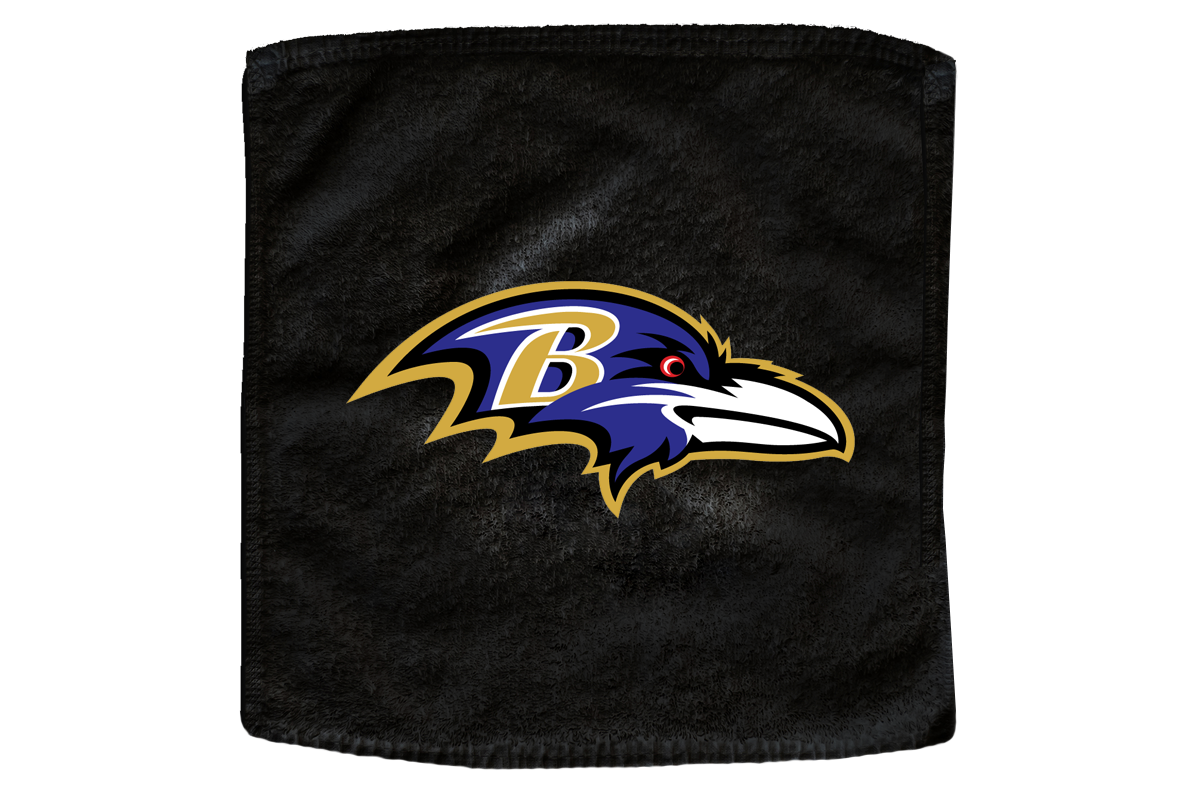 Rally Towels For The Baltimore Ravens Nfl Football Team Rallytowels Com